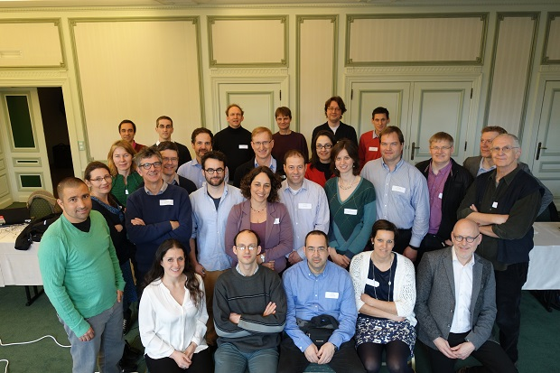 Participants at the inaugural CMSO workshop in Ghent, Belgium
